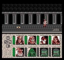 La captura de pantalla #2 Advanced Dungeons Dragons Heroes Of The Lance