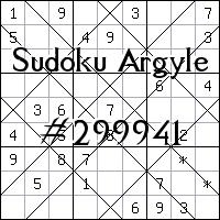 Sudoku de Argyle №299941