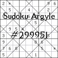 Sudoku de Argyle №299951