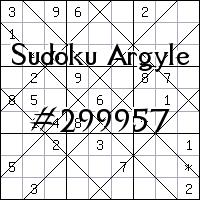Sudoku de Argyle №299957