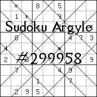 Sudoku de Argyle №299958