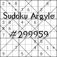 Sudoku de Argyle №299959