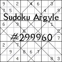 Sudoku de Argyle №299960