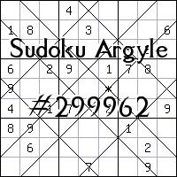 Sudoku de Argyle №299962