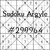 Sudoku de Argyle №299964