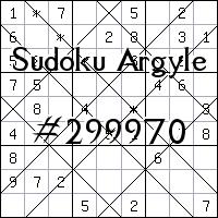 Sudoku de Argyle №299970