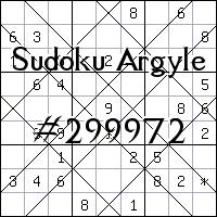 Sudoku de Argyle №299972
