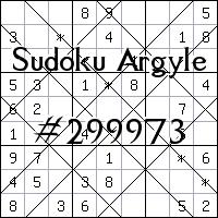 Sudoku de Argyle №299973