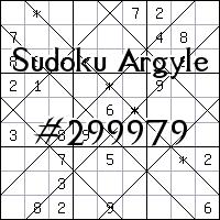 Sudoku de Argyle №299979