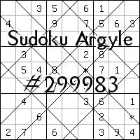 Sudoku de Argyle №299983