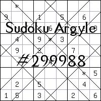 Sudoku de Argyle №299988