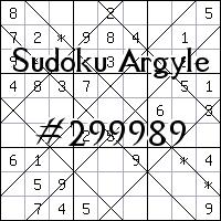 Sudoku de Argyle №299989