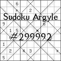 Sudoku de Argyle №299992