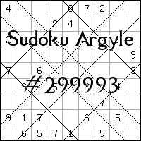 Sudoku de Argyle №299993