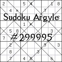 Sudoku de Argyle №299995