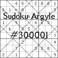 Sudoku de Argyle №300001