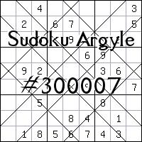 Sudoku de Argyle №300007