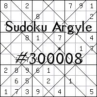 Sudoku de Argyle №300008