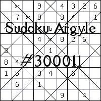 Sudoku de Argyle №300011