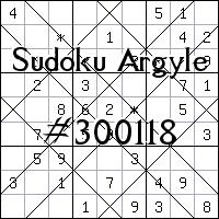 Sudoku de Argyle №300118