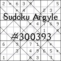Sudoku de Argyle №300393