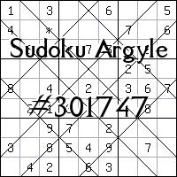 Sudoku de Argyle №301747