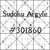 Sudoku de Argyle №301860