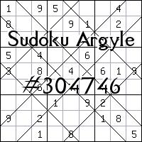 Sudoku de Argyle №304746