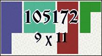 Полимино №105172