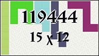 Полимино №119444
