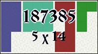 Полимино №187385