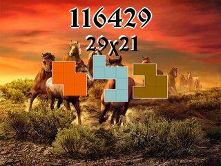 Rompecabezas полимино №116429