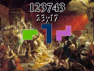 Rompecabezas полимино №123743