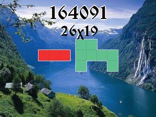 Rompecabezas полимино №164091