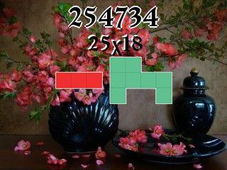 Rompecabezas полимино №254734