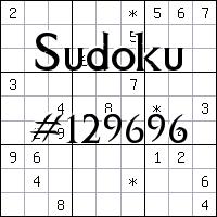 Sudoku №129696