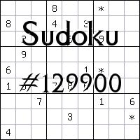 Sudoku №129900