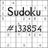 Sudoku №133854