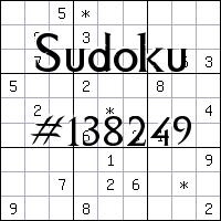 Sudoku №138249
