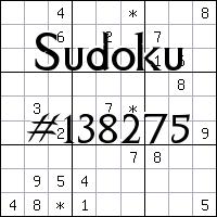 Sudoku №138275