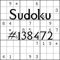 Sudoku №138472
