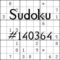 Sudoku №140364