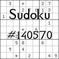 Sudoku №140570