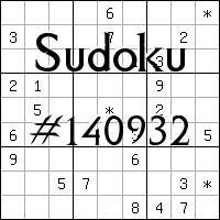 Sudoku №140932