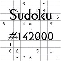 Sudoku №142000