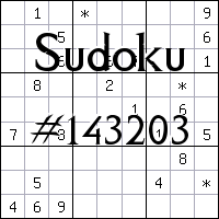 Sudoku №143203