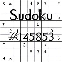 Sudoku №145853