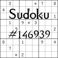 Sudoku №146939
