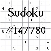 Sudoku №147780