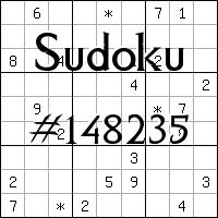 Sudoku №148235